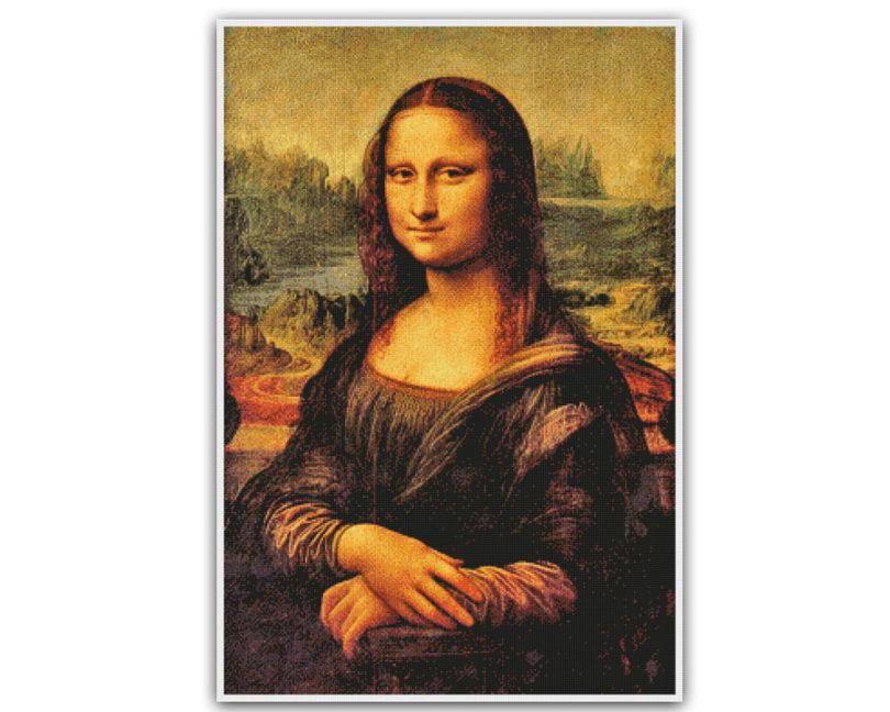 Obras de arte mais famosas do mundo - Monalisa - Leonardo da Vinci