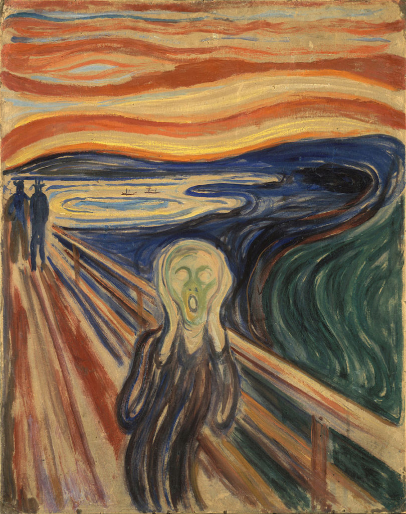 Obras de arte mais famosas do mundo - O Grito - Edvard Munch