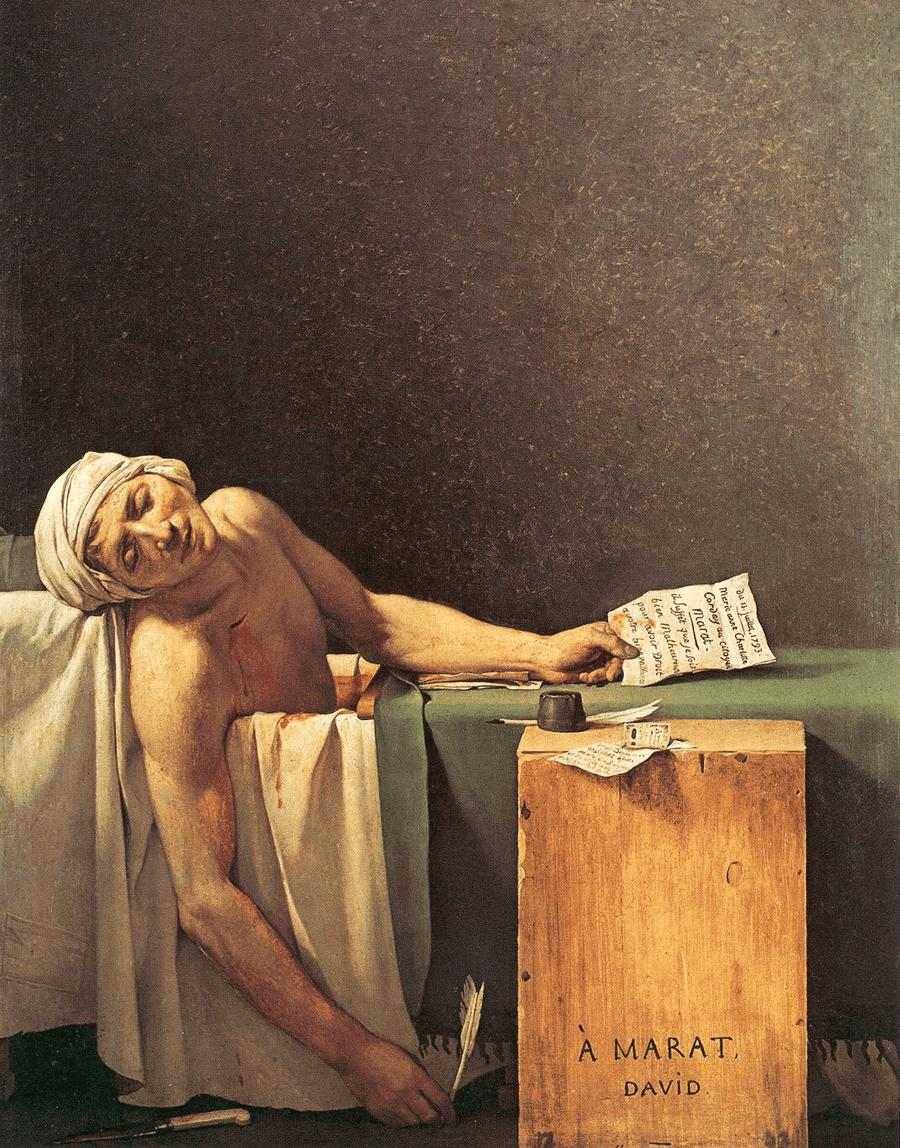 A morte de Marat