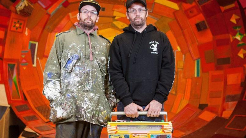Os gêmeos grafiteiros